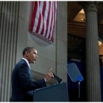 President Obama Speaking at Federal Hall on Wall Street